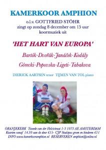 hart van europa poster